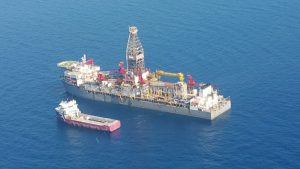 Shwe Yee Htun-1 Well about 30 miles off Ngwesaung Beach, Pathein. Photo: Supplied by Ministry of Energy