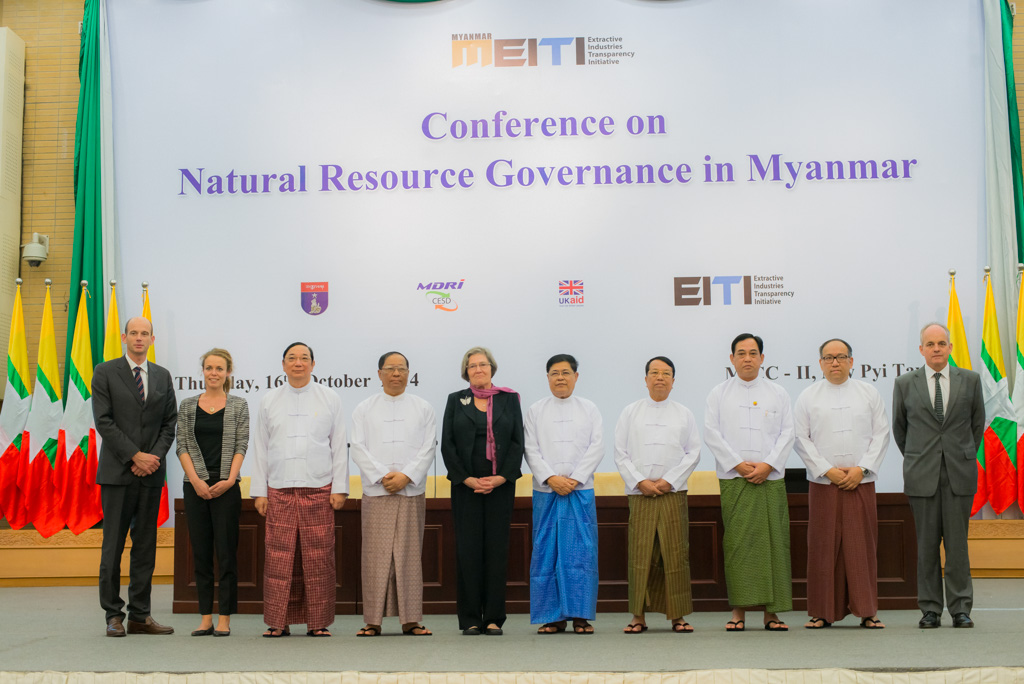 Myanmar Conference on natural resource governance. Photo taken by  The EITI on October 16, 2014 (CC BY-SA 2.0)